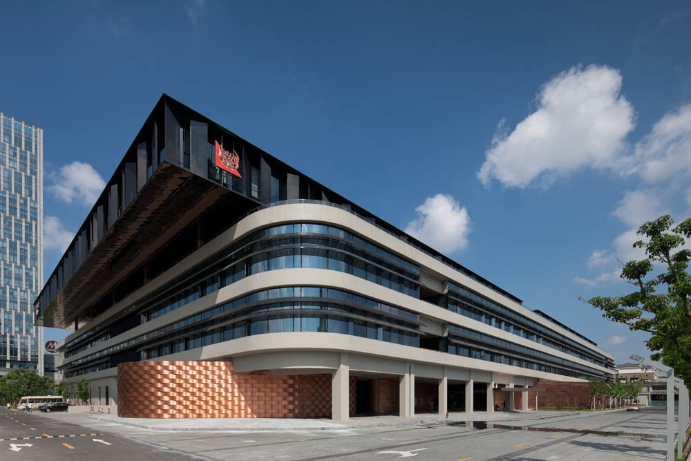 Tjad new office building in shanghai china caa for Office photos