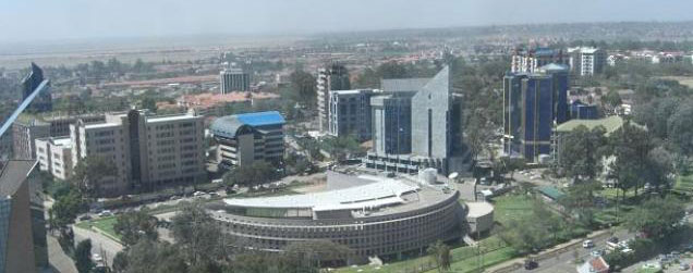 Kenya, GAPP Architetcs with Triad Architects, the Coca-Cola building in Upper Hill Nairobi
