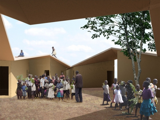 Uganda, Architects Koji Tsutsui Architect and Associates, Annular Orphanage