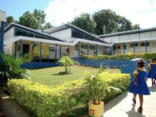 Jamaican Institute of Architects (JIA) 2014 Awards, overall winner Governor General's Award – the Evelyn Mitchell Infant School by Taylor Architects.