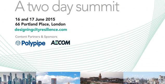 Join us at Designing City Resilience for an international exchange of ideas designed to shape better cities.